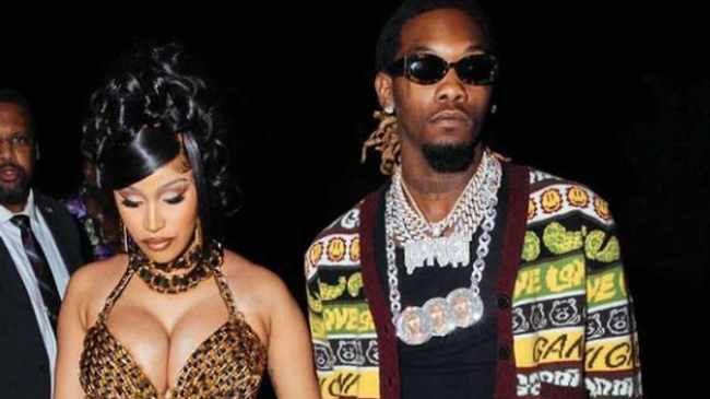 PARTY TIME: Cardi B and Offset in LA