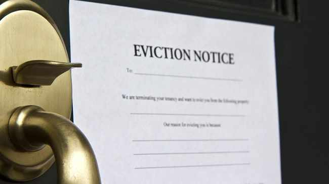 PROHIBIT: You can't be evicted from property under adjusted lockdown Level 3. File photo
