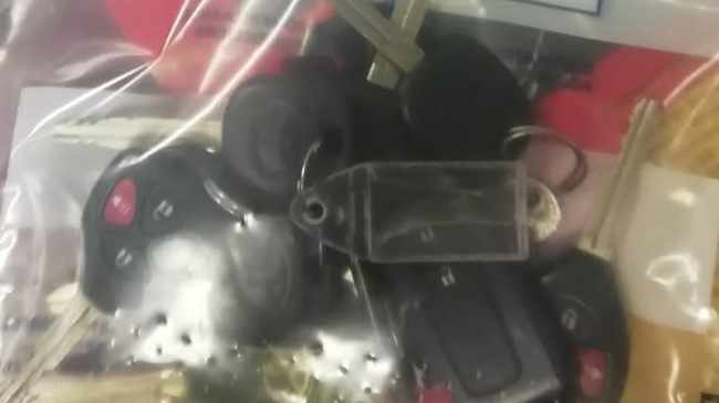 Police found computer boxes, eight vehicle keys, seven spanners, engine controller, signal jammer as well as other items, in the vehicle the four men were travelling in. Picture: Supplied