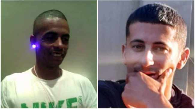 Ridwaan Barron, 40, and Ghareez Brenner, 32, were gunned down in Parkers Walk. Pictures supplied