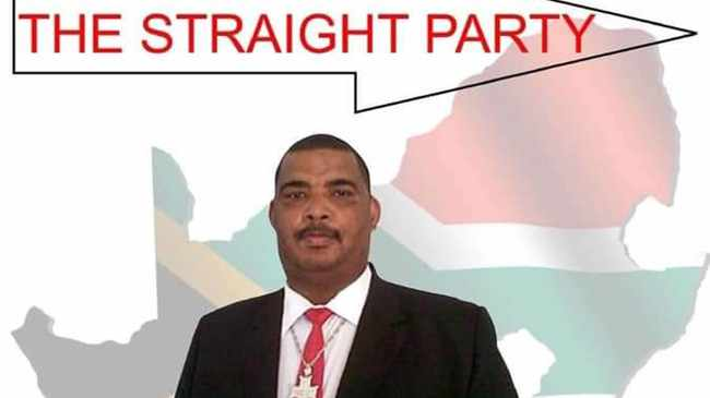 'STRAIGHT PARTY': Campaign poster. Picture: Facebook