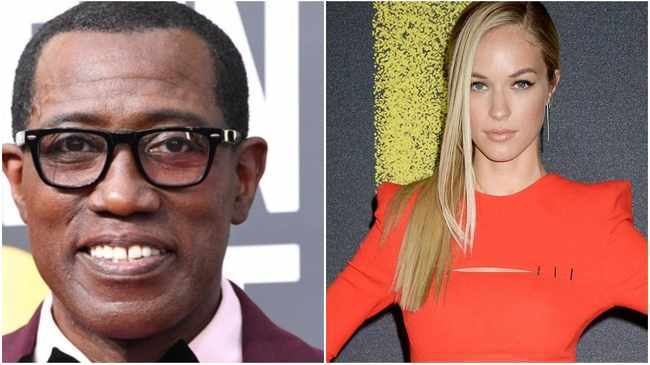 Wesley Snipes and Alexis Knapp