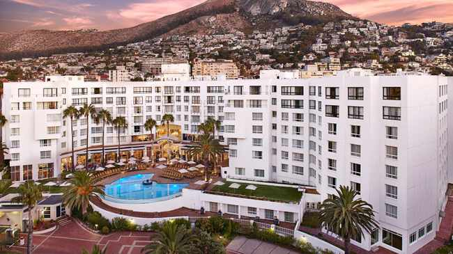 The President Hotel in Bantry Bay. Photo: Greg De Villiers/Supplied