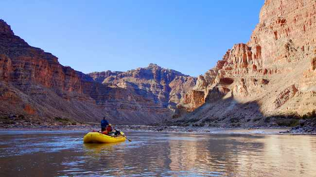 Airbnb launched an Around the World in 80 days style trip that starts on September 1. Pictured is Cataract Canyon. Picture: Supplied.