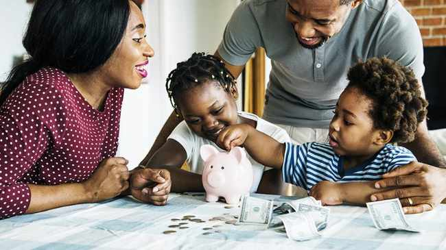 LESSON: Educating kids about your financial situation can create better understanding. Picture: File Image.