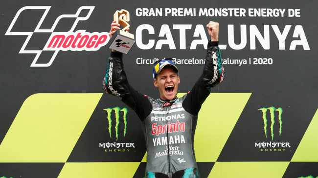 Fabio Quartararo wins Catalunya MotoGP to reclaim championship lead, Brad Binder 11th