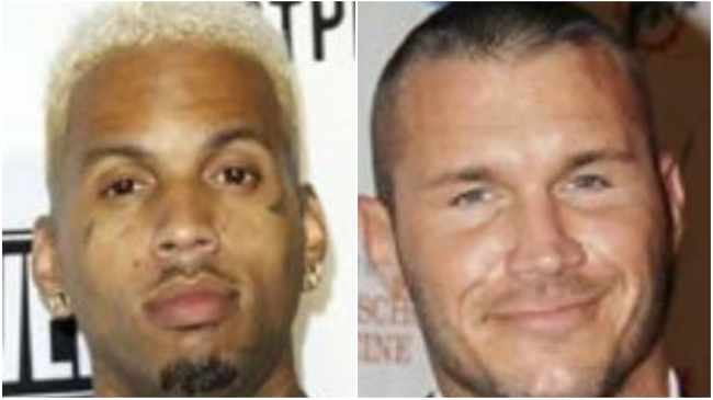 Kid Ink and Randy Orton