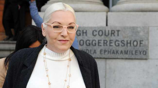 DEFENDED HERSELF: Natasha Mazzone. Picture: David Ritchie/African News Agency/ANA