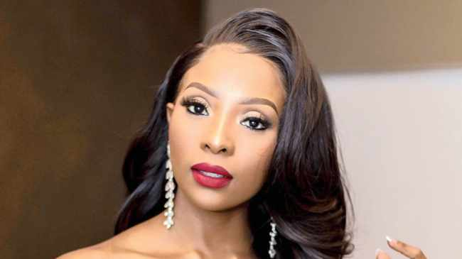 Pearl Modiadie on being a new mom: 'I melt when I look at that little face'