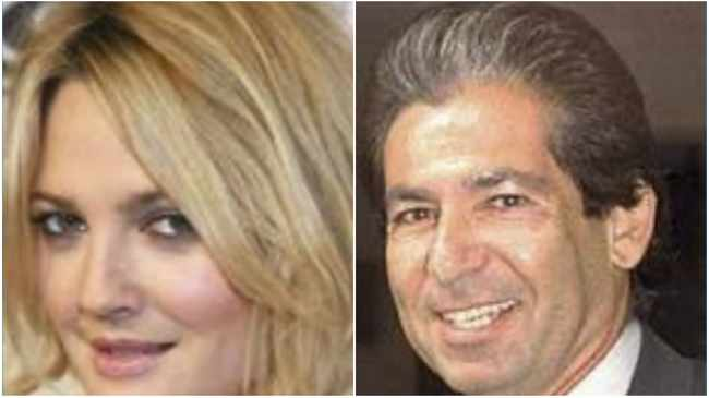 Drew Barrymore and Robert Kardashian