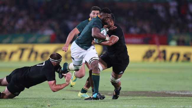 RIVALRY: Boks and All Blacks. Picture: ©Gavin Barker/BackpagePix