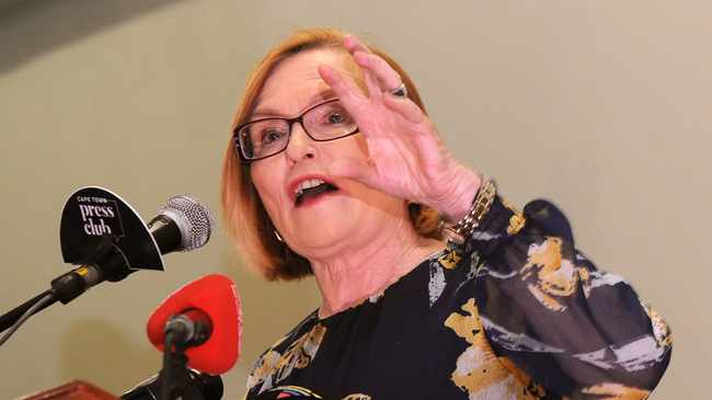 Helen Zille. Pictures: Tracey Adams/African News Agency (ANA)