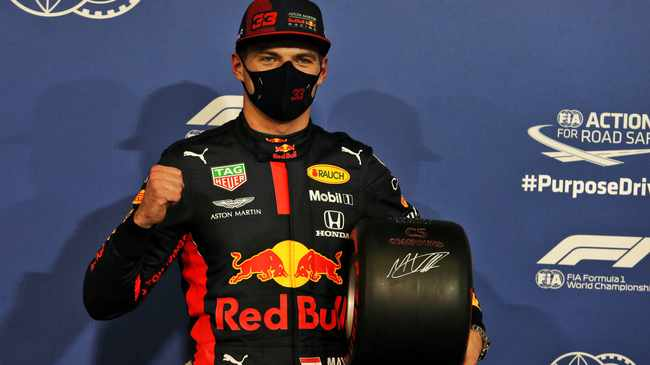 BIG WIN: Max Verstappen