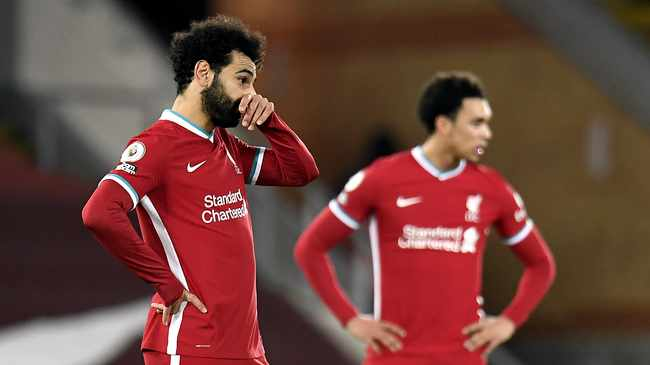 DENTED CONFIDENCE: Liverpool are targeting European successes