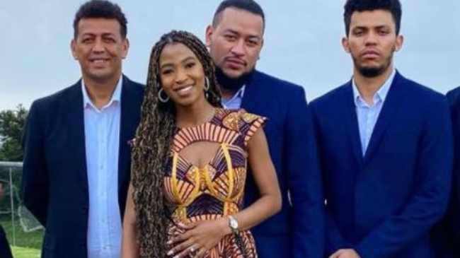 OFFICIAL: AKA, Nelli and family