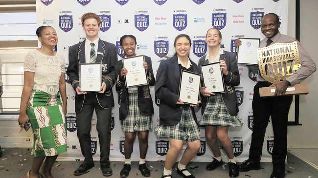 Veritas College crowned National High Schools Quiz 2019 champions