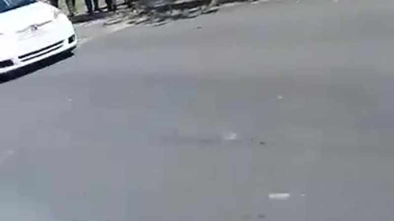 WATCH: Durban 'drag racer' ploughs into pupils outside local high school, Newsline
