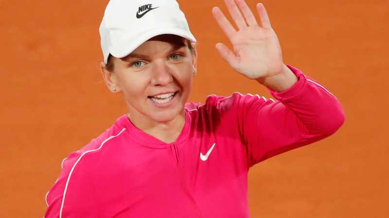 Birthday girl Simona Halep sails through after slow start, Newsline