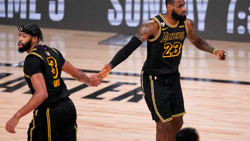 LeBron James, Anthony Davis lead LA Lakers charge in Game 2 win over Miami Heat, Newsline