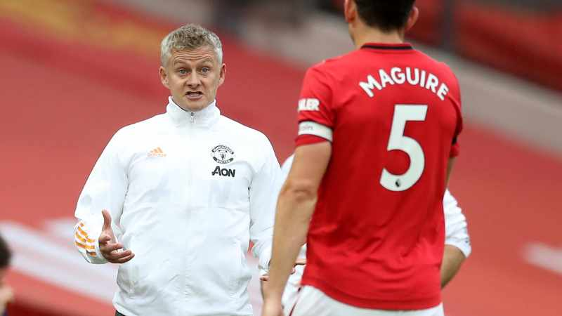 2350ad21 1987 562f afa0 99529a0367f1 - 'Top human being' Harry Maguire to remain Man United captain, says Ole Gunnar Solskjaer