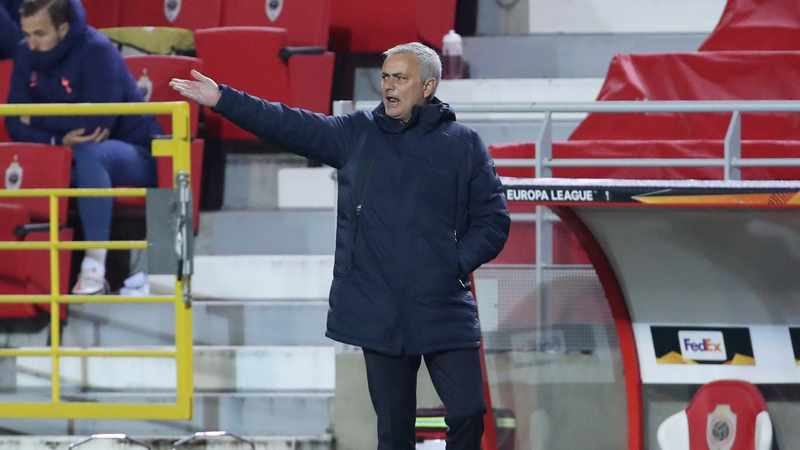 Jose Mourinho wanted to substitute 11 players in Spurs' defeat at Antwerp, Newsline