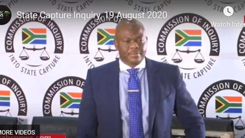 LIVE FEED: State Capture Inquiry – September 29, 2020, Newsline