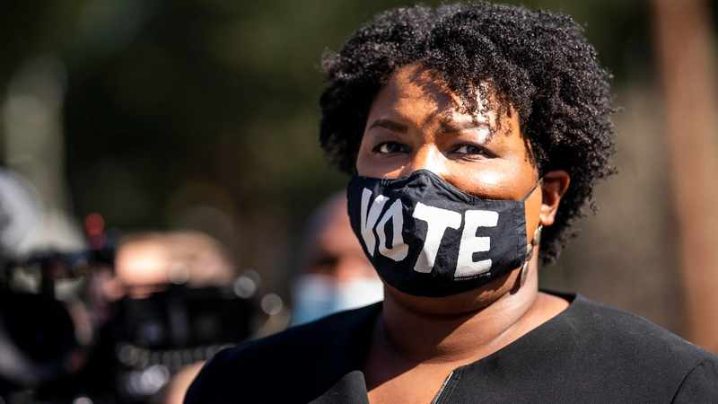 Stacey Abrams saluted by Democrats on the verge of achieving a long-held dream: Flipping Georgia, Newsline