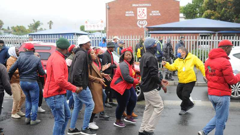 Brackenfell High SGB goes to court to interdict EFF from further protests, Newsline