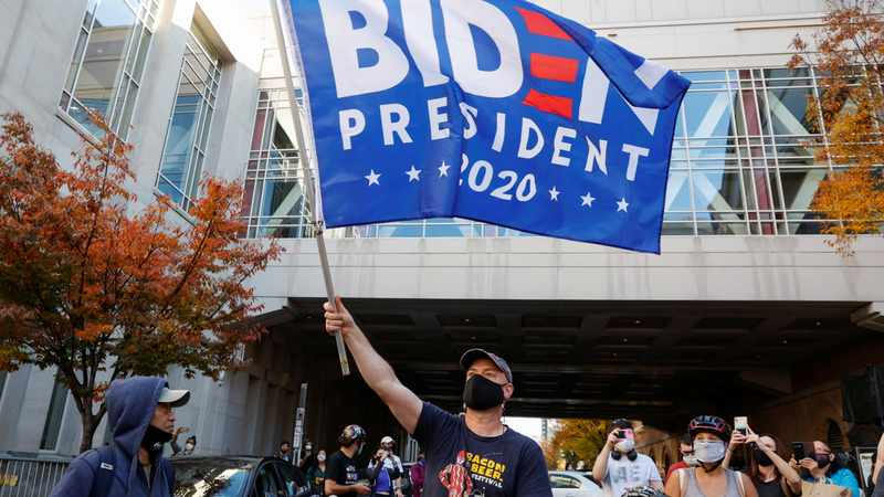 LOOK: Americans celebrate Joe Biden's election victory with banging pots and fireworks, Newsline