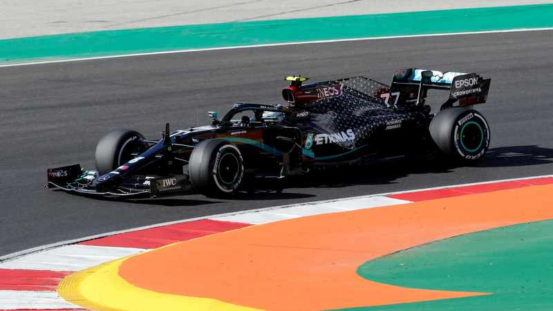 Valtteri Bottas leads Mercedes one-two in Portuguese GP first practice, Newsline