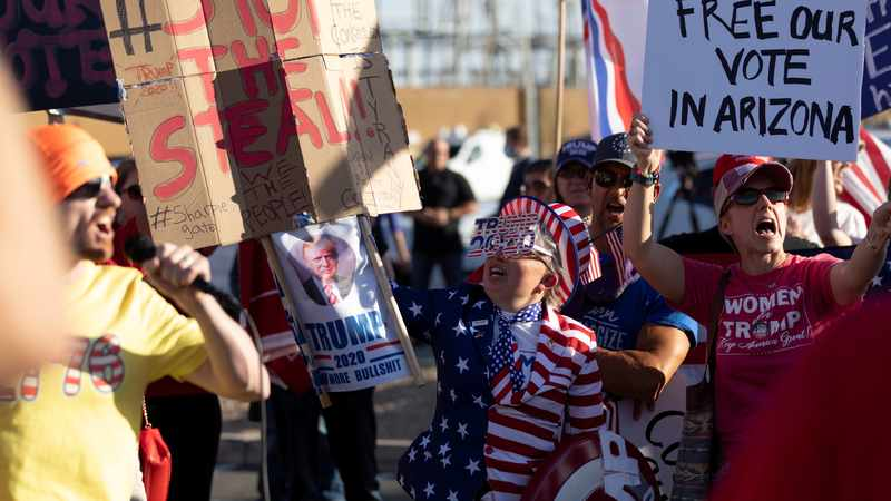 WATCH: Protests heat up as counting drags on in cliffhanger US election, Newsline