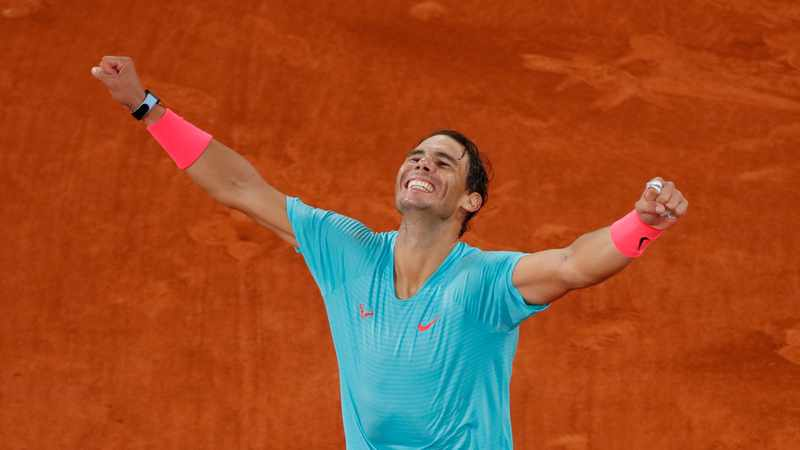 Rafa Nadal wins 13th French Open to claim record-equalling 20th Grand Slam title, Newsline