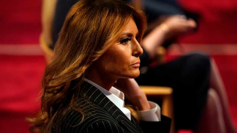 Melania Trump praises care of migrant children at detention centres in taped chat, Newsline