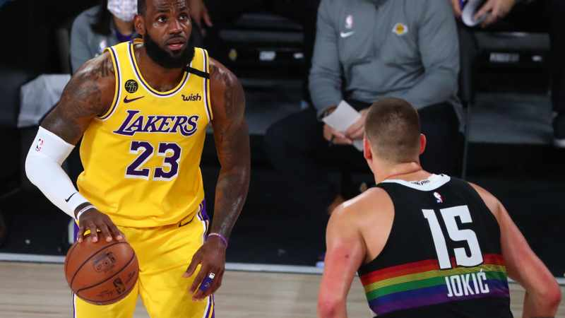 Lakers on the  after verge of NBA Finals after superior rebounding display, Newsline