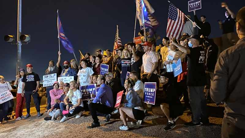 'Disgrace' and a 'mess': Africans taken aback by US election turmoil, Newsline