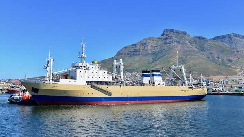 Crew members stuck on vessel at Cape harbour claim they are being prevented from going home to see their families, Newsline