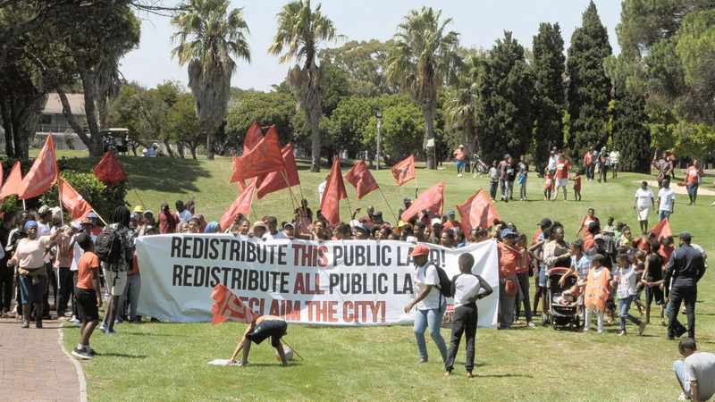 Land and housing activists slam City of Cape Town over 'apartheid spy tactics', Newsline