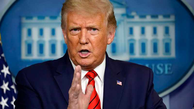 Donald Trump says he thinks the 2020 election will end up at the US Supreme Court, Newsline