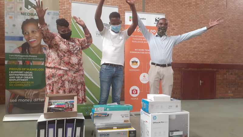Mamelodi catalysts for change awarded prizes for innovative business ideas, Newsline
