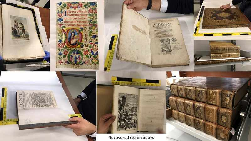 Trove of rare books worth R50m returned to owners after 'Mission: Impossible' burglary in UK, Newsline