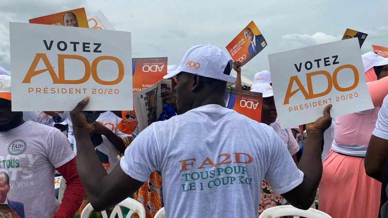 Ouattara supporters, opposition clash ahead of Ivory Coast polls, Newsline