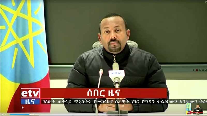 Ethiopian prime minister fires senior officials amid state of emergency, Newsline