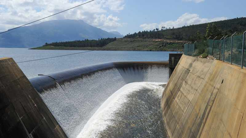 Small rise in Western Cape's dams after light rainfall, Newsline