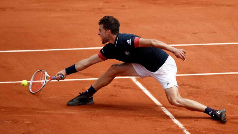 Thiem saves set points to beat American Sock in straight sets, Newsline