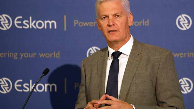 Eskom CEO Andre de Ruyter in 'power abuse' probe after complaint letter sent to board chairperson, Newsline