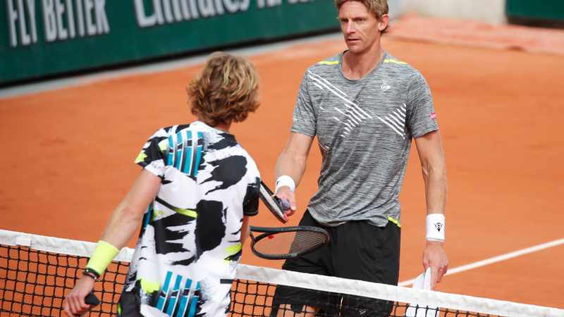 Andrey Rublev swats aside Kevin Anderson to reach fourth round in Paris, Newsline