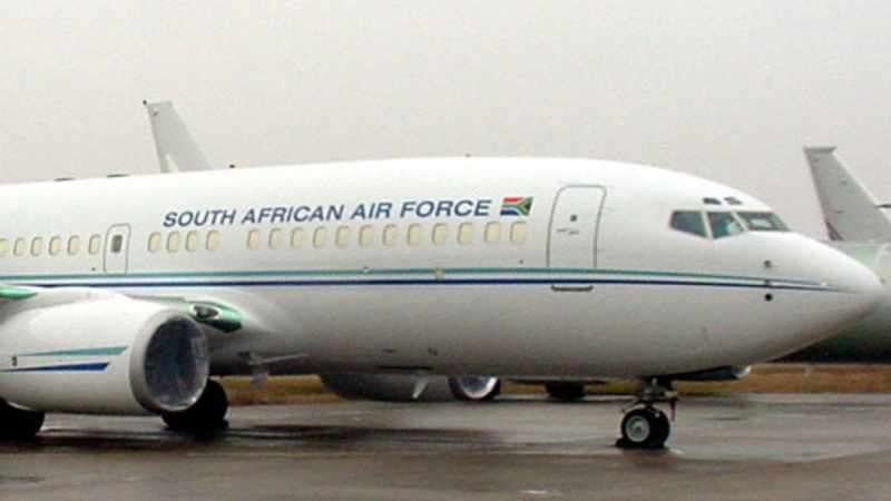 Make the report public, says DA to Ramaphosa on ANC's use of a military jet, Newsline