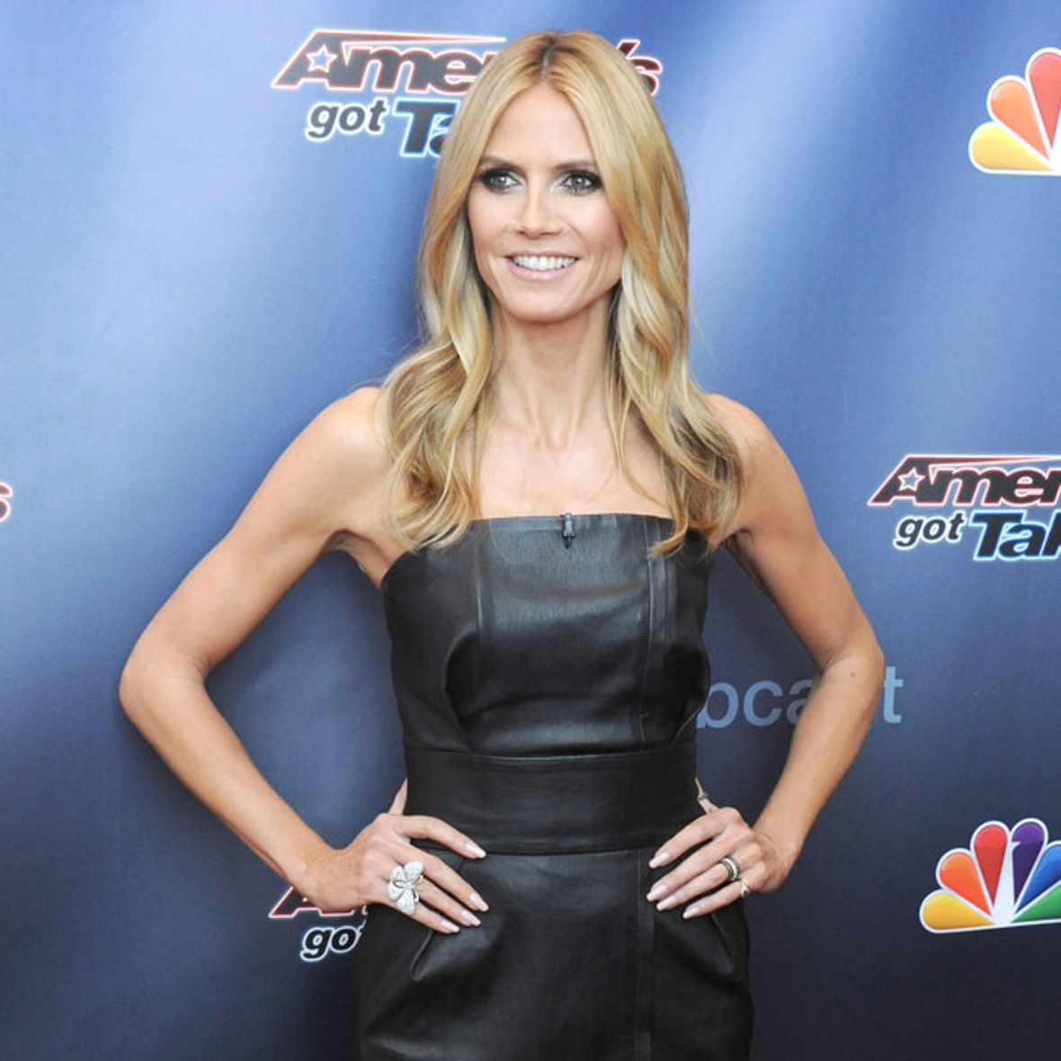 """The host and judges arrive on the red carpet for season 10 of """"America's Got Talent"""" first taped auditions with the judges, held at the New Jersey Performing Arts Center (""""NJPAC"""") in Newark, New Jersey. Pictured: Heidi Klum Ref: SPL962348 020315 Picture by: Johns PKI/Splash News Splash News and Pictures Los Angeles: 310-821-2666 New York: […]"""