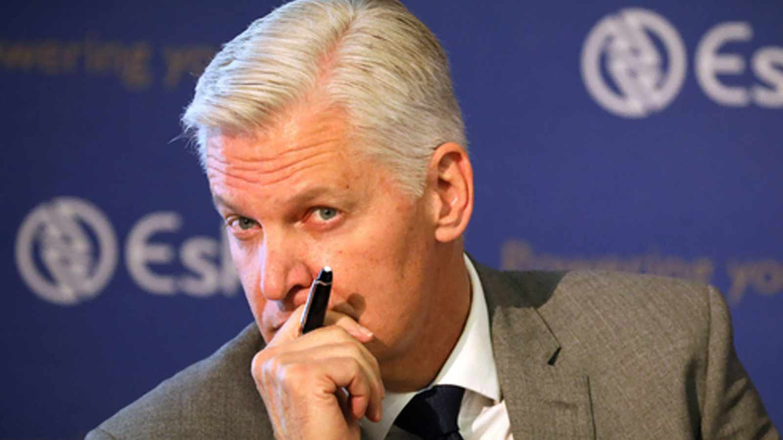 Cape Town 13-9-2021 Embattled Eskom Group Chief Executive (GCE) André de Ruyter. File picture: Sumaya Hisham/Reuters