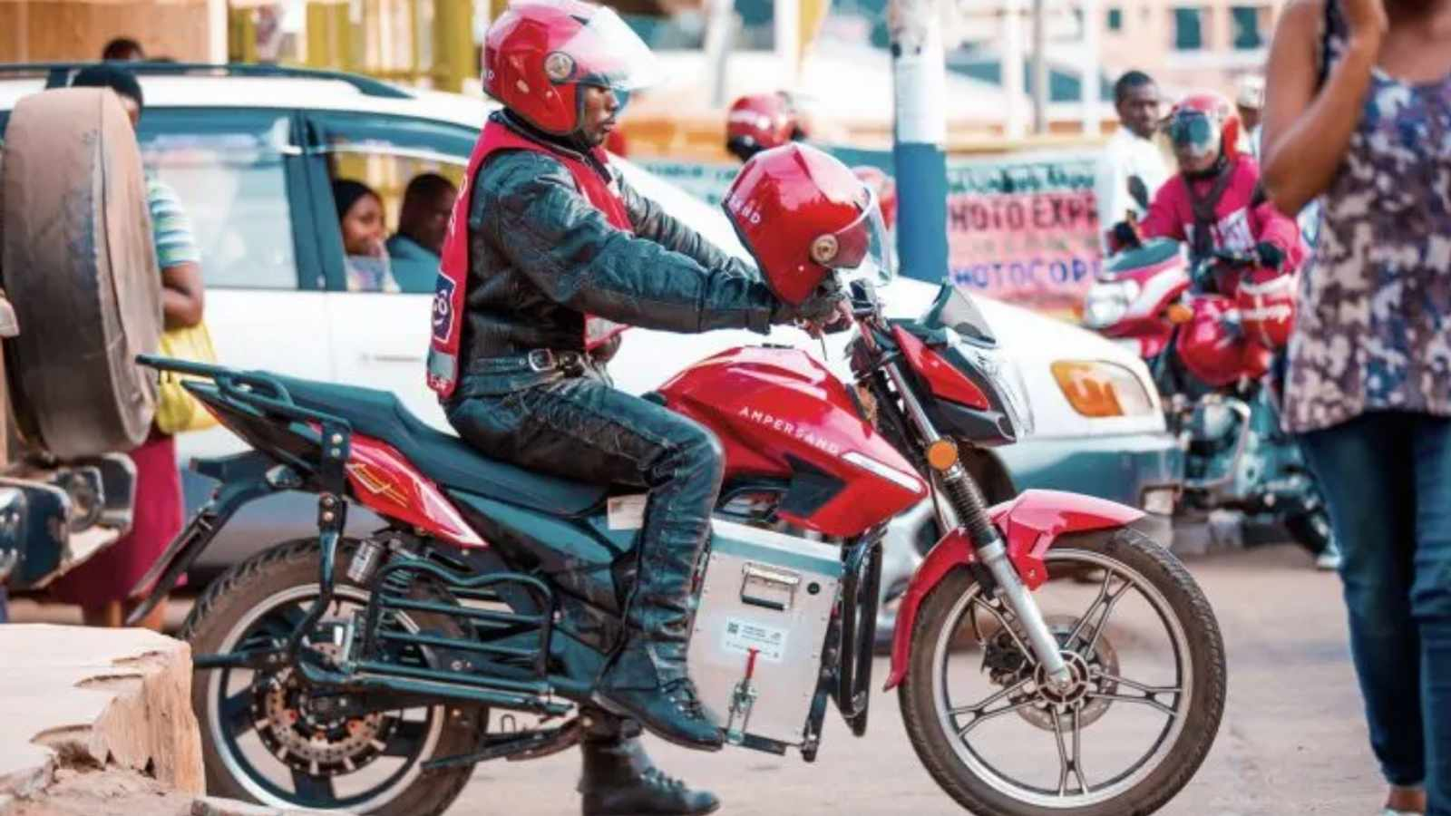 Electric motorcycle startup Ampersand is transforming the Rwandan taxi industry